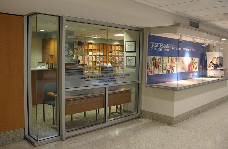 Barnard Health and Cancer Information Center Exterior